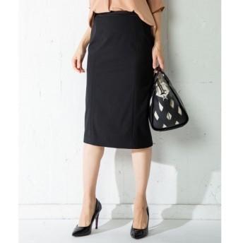 L size ONWARD(大きいサイズ) / エルサイズオンワード 【セットアップ】Composite Ox タイト スカート