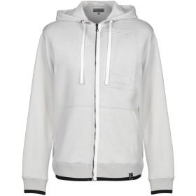 《期間限定 セール開催中》LANVIN メンズ スウェットシャツ ライトグレー S バージンウール 75% / ナイロン 25% / レーヨン / ポリエステル