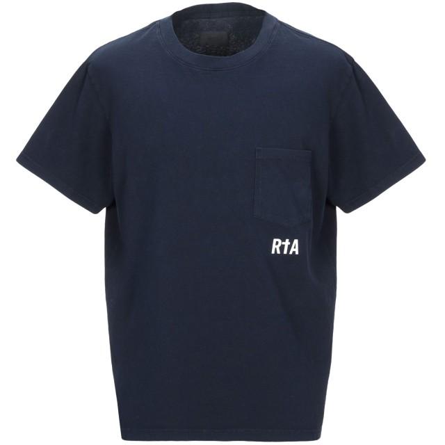 《期間限定セール開催中!》RTA メンズ T シャツ ブルー M コットン 100%