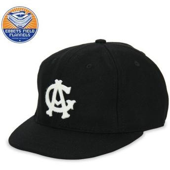 【全品あすつく】赤字売切り価格 エベッツ フィールド フランネルズ Ebbets キャップ 帽子 野球 ボールキャップ CAG27C ブラック