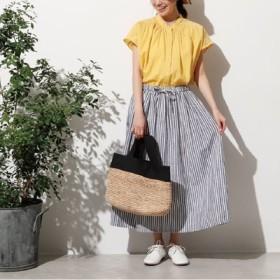オーバークローズ ナチュカジ必須の 夏のお嬢さんスカート フェリシモ FELISSIMO【送料:450円+税】