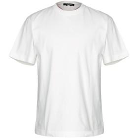 《期間限定 セール開催中》CALVIN KLEIN 205W39NYC メンズ T シャツ アイボリー XS コットン 100%