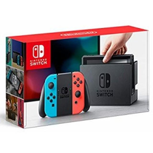 【中古 良品】 Nintendo Switch Joy-Con (L) ネオンブルー/ (R) ネオンレッ