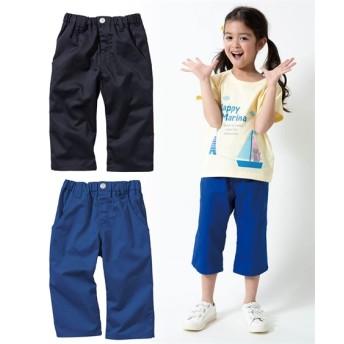 6分丈ツイルパンツ2枚組(男の子 子供服。ジュニア服) パンツ