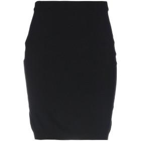 《期間限定 セール開催中》MOSCHINO レディース ひざ丈スカート ブラック 38 バージンウール 100%
