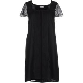 《期間限定セール開催中!》ALPHA STUDIO レディース ミニワンピース&ドレス ブラック 40 コットン 100%