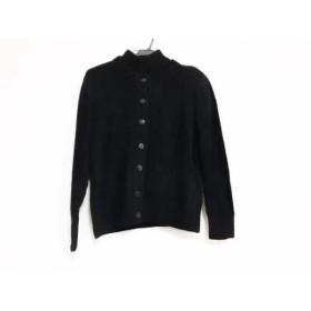 【中古】 イヴサンローラン YvesSaintLaurent アンサンブル サイズL レディース 黒