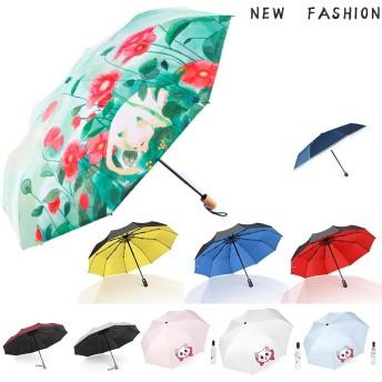 【DAYA-D】全自動1キースイッチ 自動ボタン 晴雨兼用 逆折式 さかさま傘 折りたたみ傘 手のひらサイズ 軽量 コンパクト 耐風 日傘 UVカット 紫外線カット 小型 レディース 雨具 キッズ お