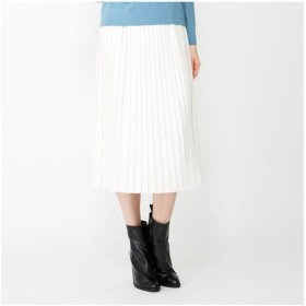 AMACA / アマカ 【ウォッシャブル】ポリエステルレーヨンツイルスカート