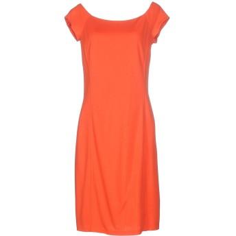 《セール開催中》RALPH LAUREN BLACK LABEL レディース ミニワンピース&ドレス オレンジ 8 レーヨン 89% / ナイロン 11%