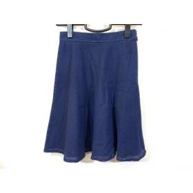 【中古】 ジャスグリッティー JUSGLITTY スカート サイズ0 XS レディース ネイビー