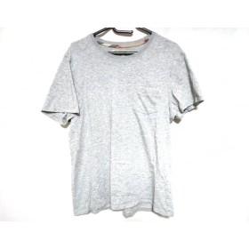 【中古】 バーバリーロンドン Burberry LONDON 半袖Tシャツ サイズXL レディース 美品 ライトグレー
