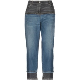 《セール開催中》MOSCHINO レディース ジーンズ ブルー 42 コットン 98% / 指定外繊維 2%