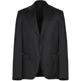《期間限定セール開催中!》GUESS BY MARCIANO メンズ テーラードジャケット ブラック 50 ポリエステル 54% / ウール 44% / ポリウレタン 2%