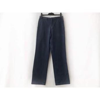 【中古】 プラダ PRADA パンツ サイズ44 S メンズ ネイビー