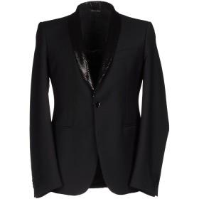 《期間限定 セール開催中》BRIAN DALES メンズ テーラードジャケット ブラック 48 100% ウール