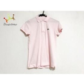 ラコステ Lacoste 半袖ポロシャツ サイズ38 M レディース 美品 ピンク   スペシャル特価 20190630