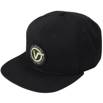 【VANSウェア】OG CIRCLE V SNAPBACK ヴァンズ キャップ VN0A3I1FBLK BLACK
