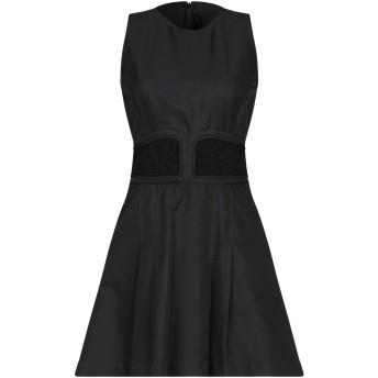 《セール開催中》GIAMBATTISTA VALLI レディース ミニワンピース&ドレス ブラック 42 レーヨン 100% / シルク