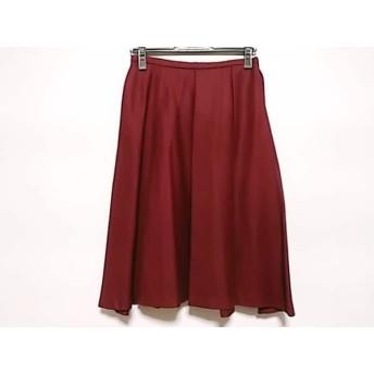 【中古】 オールドイングランド OLD ENGLAND スカート サイズ8(USA) M レディース ボルドー