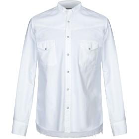 《期間限定セール開催中!》MACCHIA J メンズ シャツ ホワイト 41 コットン 100%