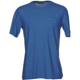 《セール開催中》ROBERTO COLLINA メンズ T シャツ ブライトブルー 46 コットン 100%