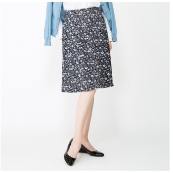 AMACA / アマカ 【ウォッシャブル】ROSSIサテンスカート
