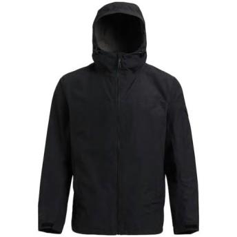 バートン(BURTON) メンズ ジャケット MB GORE PACKRTE JK トゥルーブラック 17767104001 アウター シェルジャケット フード カジュアル スポーツ