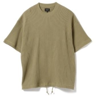 BEAMS / ルーズ サーマル クルーネック メンズ Tシャツ OLIVE/OD L
