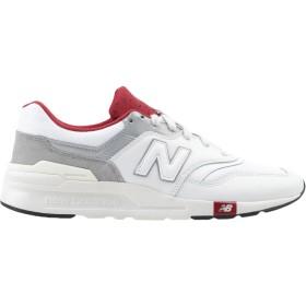 《期間限定セール開催中!》NEW BALANCE メンズ スニーカー&テニスシューズ(ローカット) ホワイト 7 革 / 紡績繊維 997