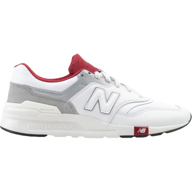 《セール開催中》NEW BALANCE メンズ スニーカー&テニスシューズ(ローカット) ホワイト 7 革 / 紡績繊維 997