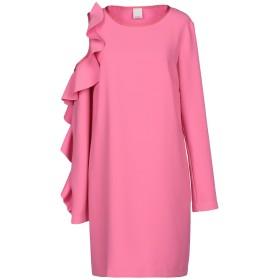 《期間限定セール開催中!》PINKO レディース ミニワンピース&ドレス ピンク 40 100% ポリエステル