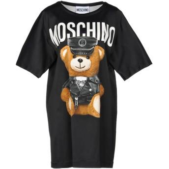 《期間限定セール開催中!》MOSCHINO レディース ミニワンピース&ドレス ブラック 38 レーヨン 97% / 指定外繊維 3%