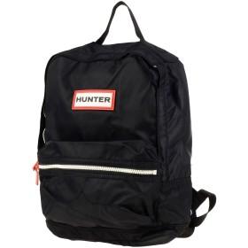 《セール開催中》HUNTER Unisex バックパック&ヒップバッグ ブラック ナイロン 100%