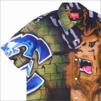 (新品)SUPREME(シュプリーム) Lion's Den Shirt (半袖シャツ) MULTI 215-001290-149+【新品】(TOPS)