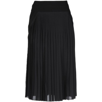 《セール開催中》GIVENCHY レディース 7分丈スカート ブラック 36 シルク 55% / ポリエステル 45%