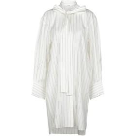 《セール開催中》CELINE レディース ミニワンピース&ドレス ホワイト 42 シルク 80% / ナイロン 20%
