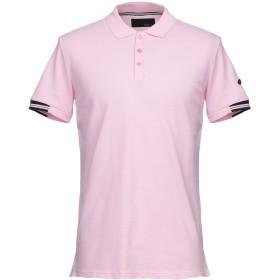 《期間限定セール開催中!》LES COPAINS メンズ ポロシャツ ピンク 48 コットン 100%