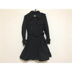 【中古】 バレンチノ R.E.D VALENTINO コート サイズ38 M レディース 黒