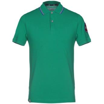 《期間限定セール開催中!》COLMAR メンズ ポロシャツ グリーン L コットン 100%