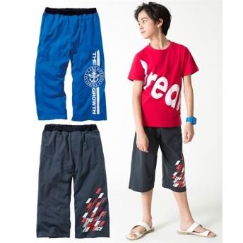 カットソー6分丈パンツ2枚組(男の子 子供服。ジュニア服) パンツ