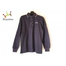 キャロウェイ CALLAWAY 長袖ポロシャツ サイズS メンズ パープル×白×ダークグレー   スペシャル特価 20190705
