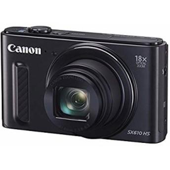 【中古 良品】 Canon デジタルカメラ PowerShot SX610 HS ブラック 光学18