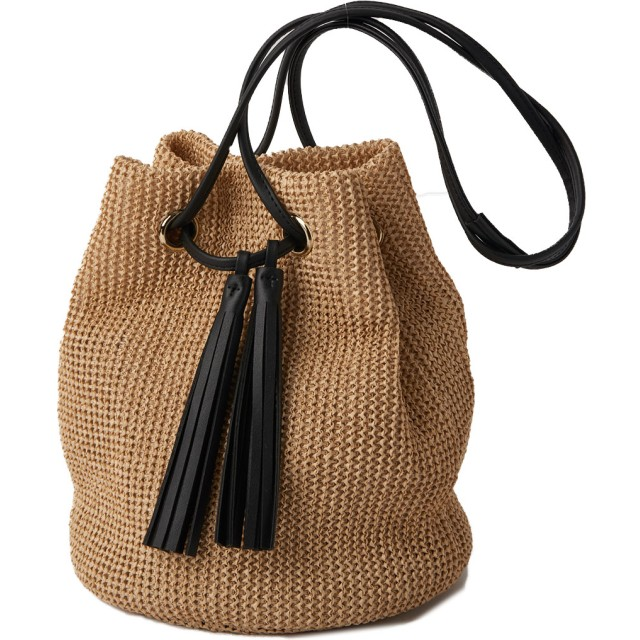 13dcd799cd9f カゴバッグ - ALTROSE かごバッグ ショルダーバッグ レディース トートバッグ 巾着バッグ 雑材風