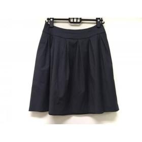【中古】 フォクシーニューヨーク FOXEY NEW YORK スカート サイズ40 M レディース ダークグレー