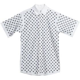 《期間限定 セール開催中》DSQUARED2 メンズ シャツ ホワイト 42 コットン 100% / アルミニウム