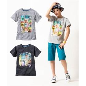 転写プリント半袖Tシャツ2枚組(男の子。女の子 子供服。ジュニア服) Tシャツ・カットソー