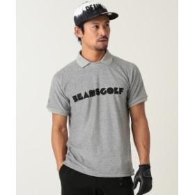 BEAMS GOLF ORANGE LABEL / パイル ポロシャツ メンズ ポロシャツ GREY S