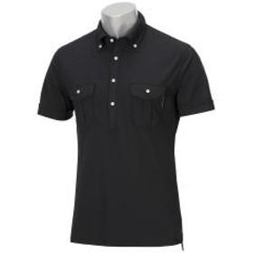 15%OFFクーポン対象商品 GDO オリジナル GDO ORIGINALWポケットボタンダウン半袖ポロシャツ クーポンコード:CKJNNWW