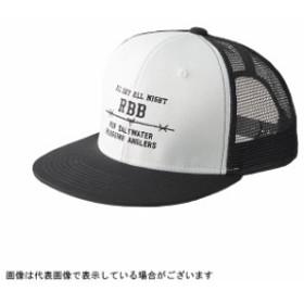 8849 RBB フラットメッシュキャップ ホワイト